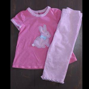 J. Khaki Bunny outfit size 6X